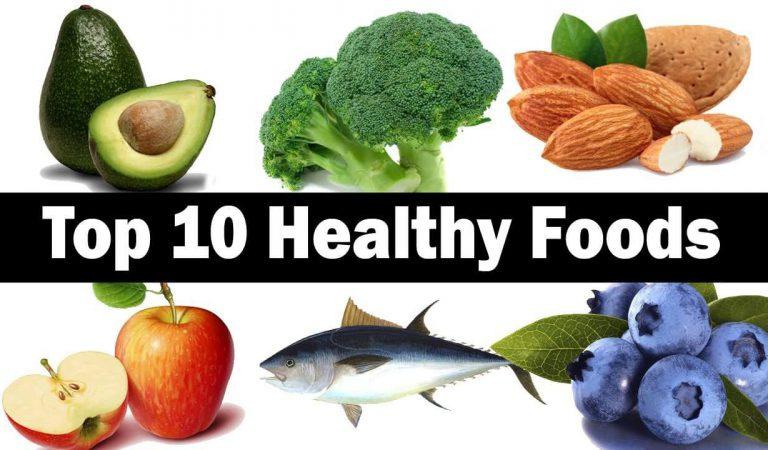 Top 10 Healthier Foods!