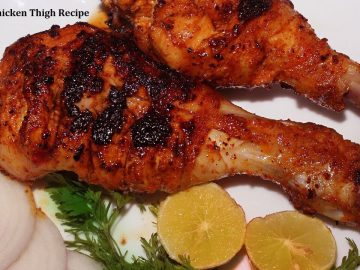 Smoked Chicken Thigh Recipe