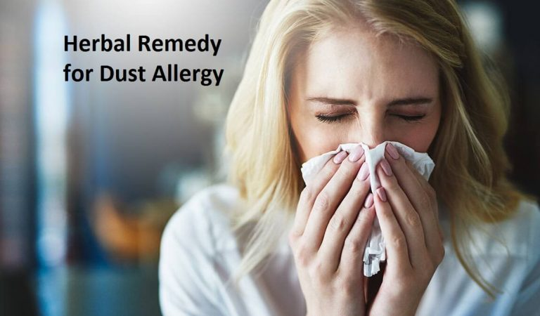 Herbal Remedy for Dust Allergy