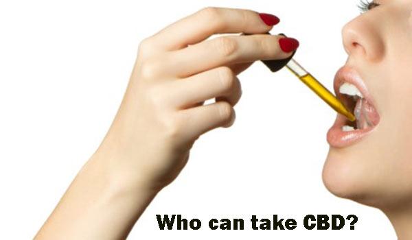 Who can take CBD