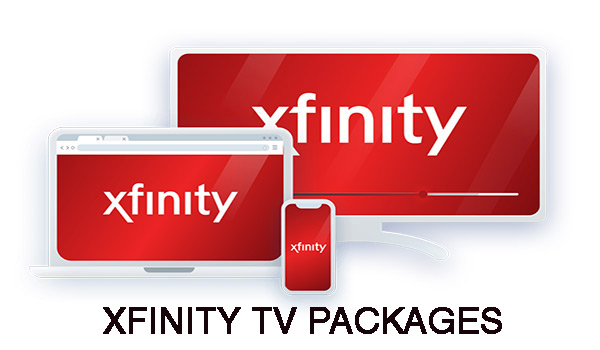 What has Xfinity got to offer you with their TV packages?